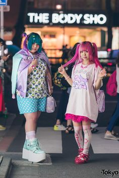 Harajuku Kawaii Girls in 6%DOKIDOKI, Cosmic Magicals, Listen Flavor, Super Lovers, Conpeitou & Metamorphose Temps De Fille