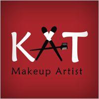 Logo design for KAT Makeup Artist