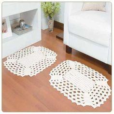 jogos de tapetes em crochê