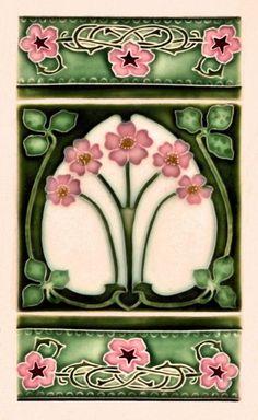 the-rouge-rose2u:Art Nouveau Tile