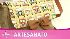 Kombina | Aprenda a fazer um linda bolsa carteiro com Del Carmem - 11 de...