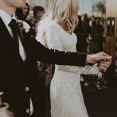 modest wedding dress with long sleeves from alta moda bridal (modest bridal gowns) photo by @tyfrench