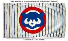 $19.99     Sell one like this     FREE SHIPPING WORLDWIDE ! GREAT New CHICAGO CUBS 1984 COOPERSTOWN flag