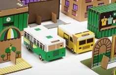 CARDBOARD TOWN http://papierowemiasto.pl | for the sprouts | Pinterest