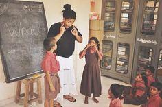 """Rammuni Reddy,Członek Izby Stanów, Parlament Indii: """"Inicjatywa 2H realizowana przez Diadem Cosmetics i Aarti Home jest świetnym projektem, który jest oparty na najbardziej efektywnej metodzie - edukacji kobiet i dzieci, która prowadzi do poprawy sytuacji ekonomicznej i społecznej.""""  Więcej informacji znajdziecie na www.diadem.com.pl"""