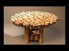 (84) 100 классных идей изделий из дерева! - YouTube