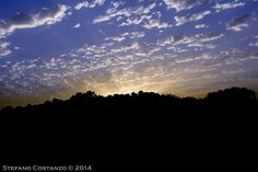 Sunset on the park by Stefano Costanzo on 500px