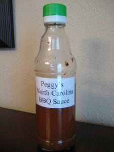 North Carolina BBQ Sauce!