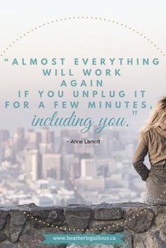 A reminder to 'unplug' once in awhile & blog post highlighting 3 mental health apps that can be used to relax and find balance @hleguilloux