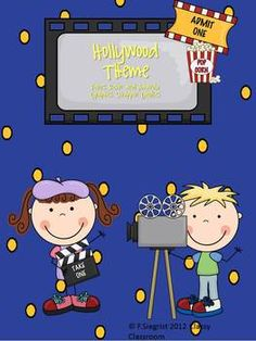$7.99 -85  pages of Hollywood to make your room an exciting area for kids!!  A great way to