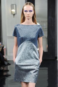 Victoria Beckham's Ny Fashion Week, Victoria Beckham, Peplum Dress, Photo Galleries, Presentation, Dresses For Work, Sunday Morning, September, Spring