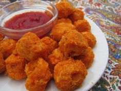 Baked sweet potato tots. (Make with coconut instead of parmesan for Whole30.)
