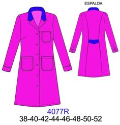 Delantales Scrubs Pattern, Corporate Uniforms, Teacher Style, Diy Clothing, Medical, Plus Size, Coat, Jackets, Clothes