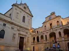 Facade of the Duomo and Bishop Palace in the Duomo Square of Lecce (Italy). Visit the website for other pictures!