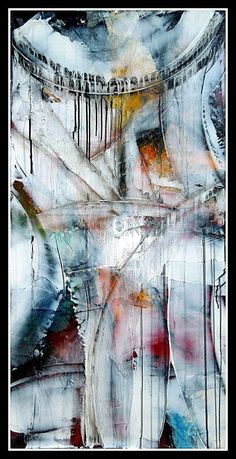 Large Abstract Textured Painting always original mixed by MAUSART, $599.00