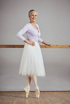 Wow! Pauline Devine, 60, said ballet gave her back the strength and confidence she lost after b...