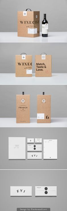 Winecast packaging - Anagrama #identity #packaging
