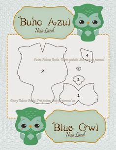 DIY Felt Owl - FREE Pattern and Tutorial