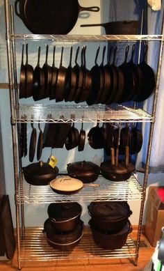 Cast Iron Storage:) Perfect! IMAGE ONLY.