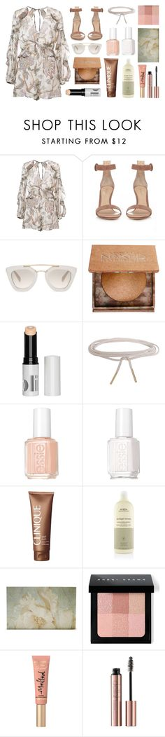 """pastel colors 2016"" by maricapineda ❤ liked on Polyvore featuring beauty, Zimmermann, Gianvito Rossi, Prada, Urban Decay, Humble Chic, Essie, Clinique, Aveda and Bobbi Brown Cosmetics"