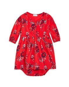 Splendid Infant Girls' Floral Print Dress & Bloomer Set - Sizes 3-24 Months