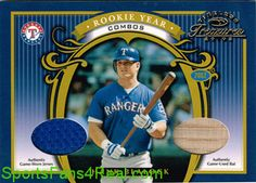 """""""Not Sold Out, But Coming Soon""""  """"Stay Tuned to Twitter""""  2003 Timeless Treasures Rookie Year Combos #5 Hank Blalock Bat-Jersey #' to 25   $NA"""