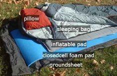 hiking sleep system