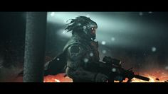 Soldier Hunter by Alejandro-Mirabal.deviantart.com on @deviantART