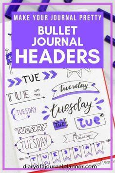 Bullet journal headers, bullet journal headers banners, bullet journal headers hand lettering, bullet journal headers doodles, bullet journal headers step by step, #bulletjournal #bulletjournalideas #bulletjournalspread #bulletjournaling #bulletjournalinspiration #bujo #bujojunkies #bujolove #bujoinspire #bujocommunity #bulletjournaljunkies #bujoideas #bujoinspiration #planner #planneraddict #plannergirl #plannerideas #plannerpages