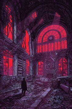 Cool Art: Prints by Daniel Danger Fantasy Kunst, Dark Fantasy Art, Dark Art, Gravure Illustration, Illustration Art, Arte Dope, Digital Foto, Illustrator, Arte Obscura