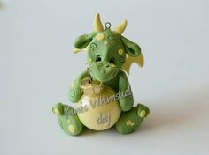 Hey, I found this really awesome Etsy listing at https://www.etsy.com/listing/527537694/handmade-polymer-clay-dragon-ornament
