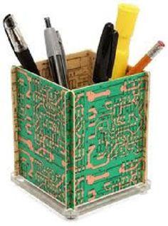 EcoNotas.com: Ideas para Reciclar Placas Madre, Accesorios Reciclados