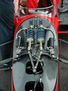 Dallara normal front suspension
