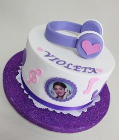 Violetta Disney Cake Violeta Glace