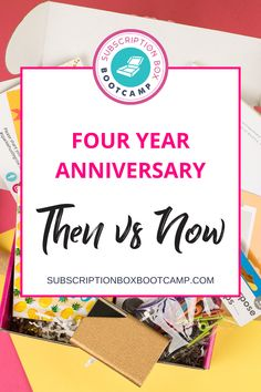 Some of you may still be in the idea stage or in just launched stage and we want to encourage you because where we're at now, we were not at four years ago. If we can do it, you can do it too with a gentle reminder that you can never, ever compare your day one to someone else's one hundred. Complete Plan for Subscription Box, Subscription Boxes Ideas, Business Plan, Female Entrepreneur Tips, Subscription Boxes for women, Subscription Box Bootcamp, How to start subscription box business! Business Launch, Advertise Your Business, Beauty Box Subscriptions, Business Planning, Business Ideas, Entrepreneur Inspiration, Messages, Work From Home Moms, Subscription Boxes
