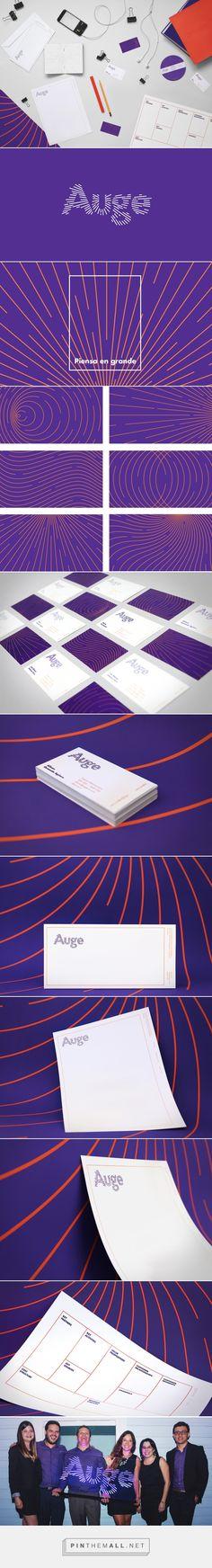 Auge on Behance - created on Brand Identity Design, Graphic Design Branding, Corporate Design, Corporate Identity, Event Branding, Logo Branding, Logo Inspiration, Web Design, Bussiness Card