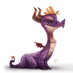 DAY 500. Spyro by Cryptid-Creations.deviantart.com on @deviantART