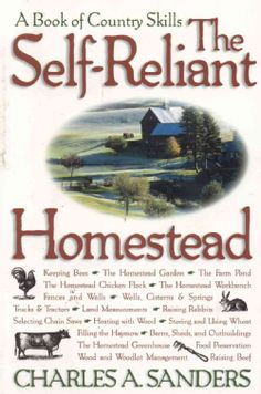 @Overstock - A hands-on text for country living, this book contains detailed advice on everything from selecting a piece of land to raising livestock, from making wine from home-grown fruits to making fences strong and durable. Here is abundant advice from a real c...http://www.overstock.com/Books-Movies-Music-Games/The-Self-Reliant-Homestead-Paperback-softback/934823/product.html?CID=214117 $14.06