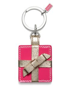 COACH PRESENT PICTURE FRAME KEY RING - COACH -