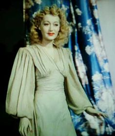 Elvira in Blithe Spirit.  I think this costume influenced Ossie Clark in his dresd designs.