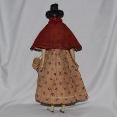 Fabulous All Original Apollo Knot Milliner's Model Peddler Doll from joan-lynetteantiquedolls on Ruby Lane