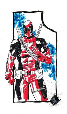 Deadpool by Patrick Macchi