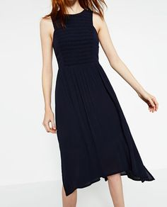 Image 4 of DRESS WITH STRETCH TOP from Zara