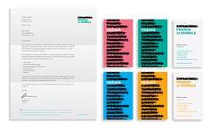 MSLK-designed identity for Friends of Animals. #brandidentity
