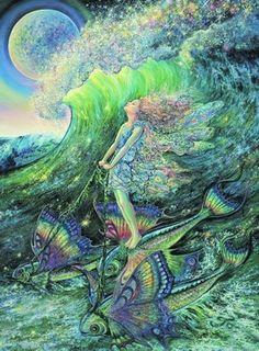 SURFER'S DREAM Artist JOSEPHINE WALL