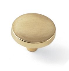 Laurey Cabinet Knobs, 1 1/4 inches Knob - Polished Brass