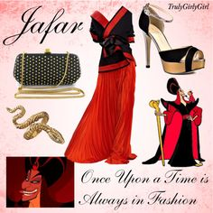"""Disney Style: Jafar"" by trulygirlygirl ❤ liked on Polyvore"