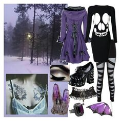 Crushing myself from the inside by jeanettebeatrice on Polyvore featuring RebelsMarket, Stephen Webster and Witchery