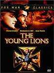 1958 The Young Lions,stars Dean Martin., Montgomery Clift,and Marlon Brando (with blond hair_)Brando is a misguided Nazi officer,he hates being a Nazi. Martin and Clift,are American Soldiers.A classic ,but sad movie of war time and the effect it has on the men. A great Movie..I loved it