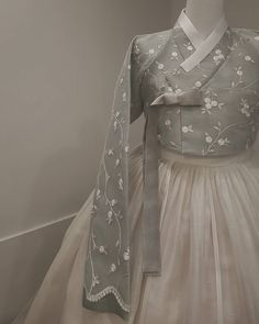 25 Modern Hanbok Can Be Used for Daily Wear Hanbok Wedding, Muslimah Wedding Dress, Wedding Dresses, Korean Traditional Dress, Traditional Dresses, Kebaya Modern Dress, Korea Dress, Modern Hanbok, Dress Brokat